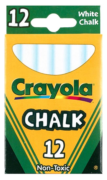 Crayola Llc Formerly Binney & Smith Bin320 Crayola White Low Dust