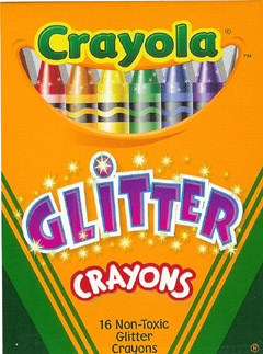 Crayola Llc Formerly Binney & Smith Bin523716 Crayola Glitter Crayons 16 Crayons