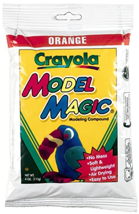 Crayola Llc Formerly Binney & Smith Bin574436 Model Magic 4 Oz Orange