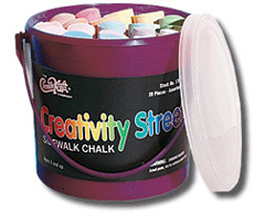Chenille Kraft Company Ck-1700 Sidewalk Chalk 20 Pieces