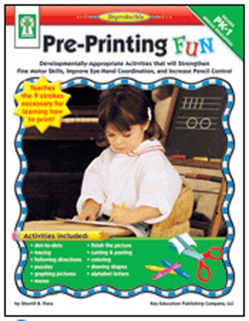 Carson Dellosa Ke-804060 Pre-Printing Fun