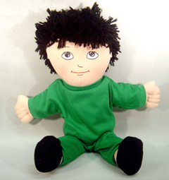 Childrens Factory Fph726 Dolls Asian Boy Doll Sweat Suit