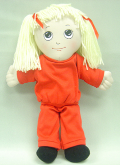 Childrens Factory Fph729 Dolls White Girl Doll Sweat Suit
