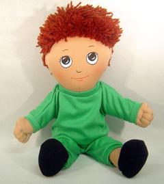 Childrens Factory Fph730 Dolls Hispanic Boy Doll Sweat Suit