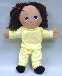 Childrens Factory Fph731 Dolls Hispanic Girl Doll Sweat Suit