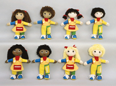 Childrens Factory Fph858 Learn To Dress Doll Black Girl