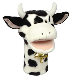 Get Ready Kids Formerly Mt&B Mtb201 Plushpups Hand Puppet Cow