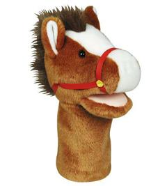 Get Ready Kids Formerly Mt&B Mtb202 Plushpups Hand Puppet Horse