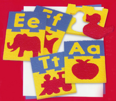 Smethport Specialty Company- Lauri Lr-2330 Alphabet Puzzle Boards