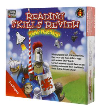 Edupress Lrn1051 Reading Skills Rev Time Capsule Bl