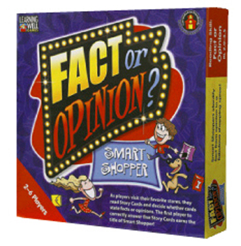 Edupress Lrn402 Fact Or Opinion Shopping Mall Red
