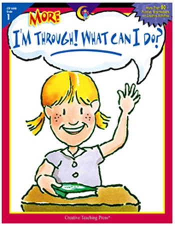 Creative Teaching Press Ctp4440 More Im Through What Can I Do Gr 1