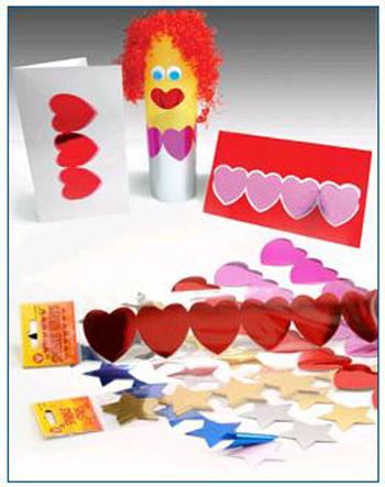 Hygloss Products  Inc. Hyg94718 Sticker Strips 5 Strips Gold Stars