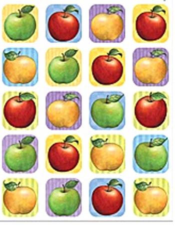 Teacher Created Resources Tcr5726 Sw Apple Stickers 120 Stks