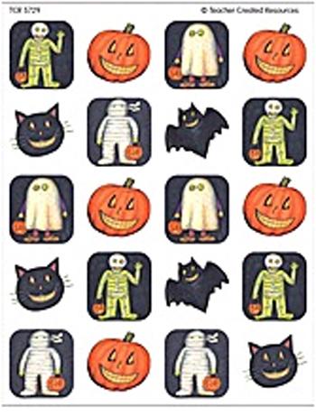 Teacher Created Resources Tcr5729 Sw Halloween Stickers 120 Stks