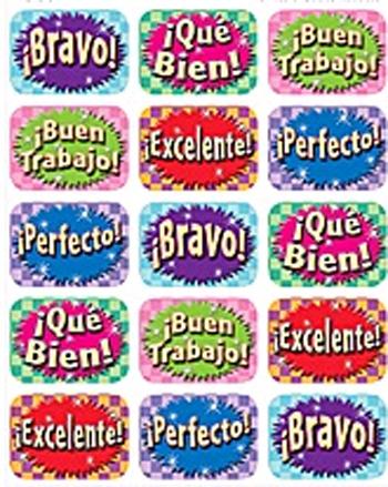 Teacher Created Resources Tcr5734 Good Work Spanish 90 Jumbo Stickers