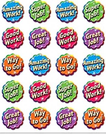 Teacher Created Resources Tcr5752 Good Work Stickers 120 Stks
