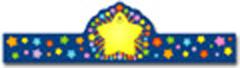 CARSON DELLOSA CD-0234 RAINBOW STAR CROWNS-30/PK