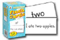 CARSON DELLOSA CD-3910 FLASH CARDS BASIC SIGHT WORDS-6 X 3