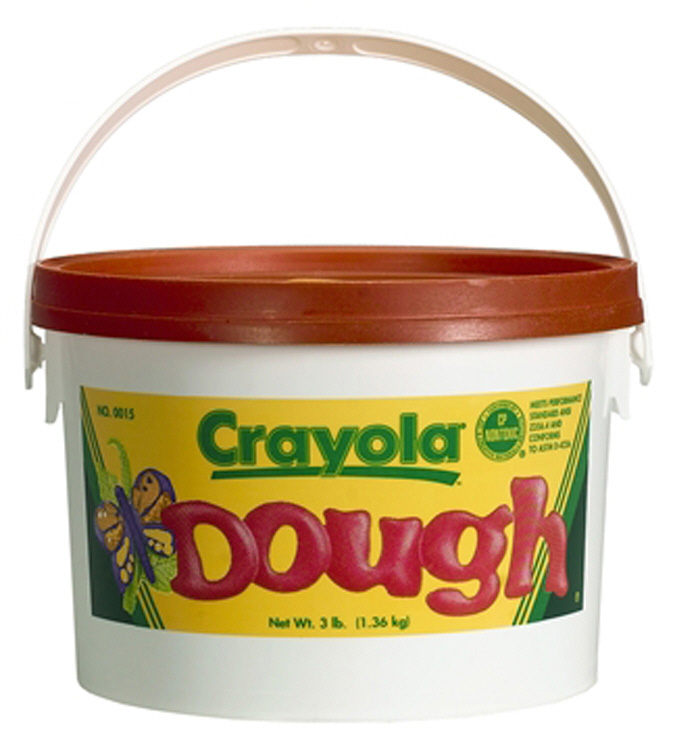 CRAYOLA LLC FORMERLY BINNEY & SMITH BIN1536 MODELING DOUGH 3LB BUCKET ORANGE