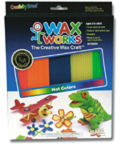 CHENILLE KRAFT COMPANY CK-4113 WAX WORKS HOT HUES