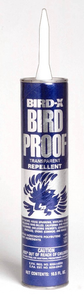 Bird-X BIRDXBPCARTEACH 10 Oz Repellent Tube GC5882