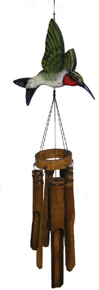 Cohasset Imports CH187H Flat Hummingbird Wind Chime