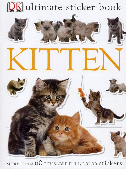 Penguin Group PG9780756621018 Kitten Sticker Book