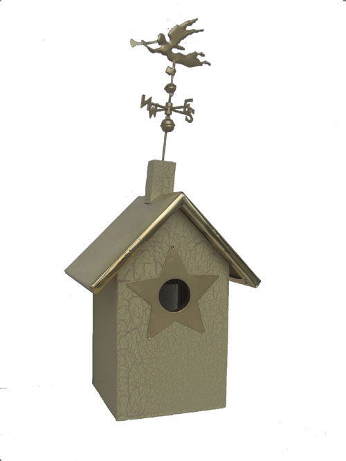 Angel Birdhouse