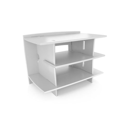 Legare STWM-105 24 inch x 33 inch Kids Gaming Stand- White Finish