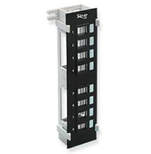 IC107BP8VB 8 Port Vertical Blank Patch Panel