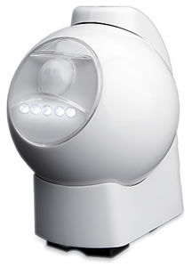 MAXSA Innovations 40231 5 LED Battery-Powered Motion-Activated Spotlight