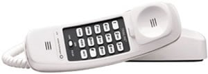 Vtech 210-WH Trimline Corded Telephone - White