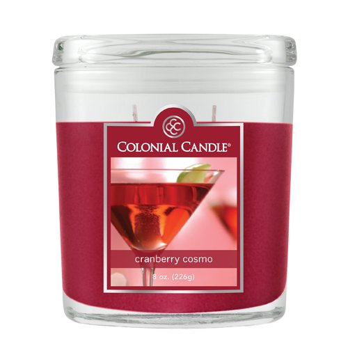 Fragranced in-line Container CC008.1867 8oz. Oval Cranberry Cosmo - Pack of 4
