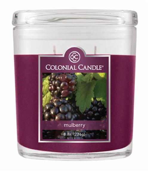 Fragranced in-line Container CC008.445 8oz. Oval Mulberry - Pack of 4