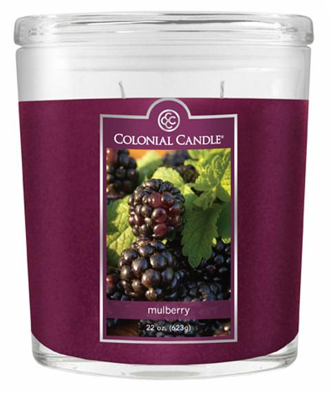 Fragranced in-line Container CC022.445 22oz. Oval Mulberry