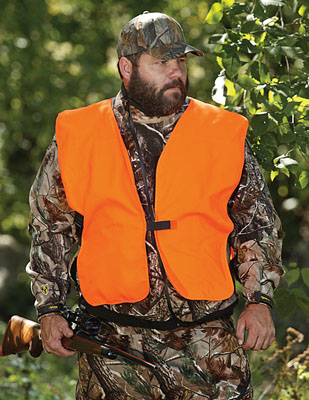 Allen 15753 Orange Vest Big Man