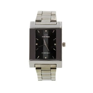 Fortuner WAT0961MGY Fortune Duke Exclusive Silvertone Stainless Steel Silvertone Face Men Watch for Gift Apparel