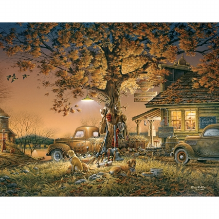 White Mountain Puzzles WM816 Jigsaw Puzzle Terry Redlin 1000 Pieces 24 in. x 30 in. Twilight