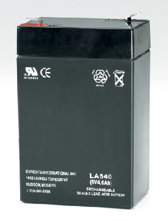 EXPEDITE INTERNATIONAL 51135-0 Rechargeable Battery 6-Volt at Sears.com