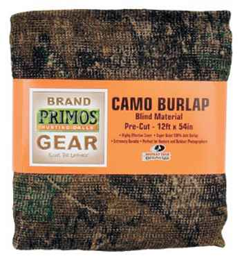 Primos Game Calls 6372 Primos Burlap Cloth 12 ft. x 54 in. Break-Up Camo