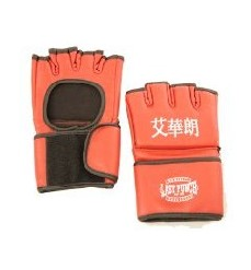 Lion Martial Arts MMA4213-23 Grappling Glove Pair - Large Red