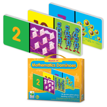 The Learning Journey Learning Journey 444665 Match It Mathematics Dominoes at Sears.com