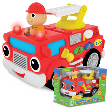 Learning Journey 132616 On the Go Fire Truck