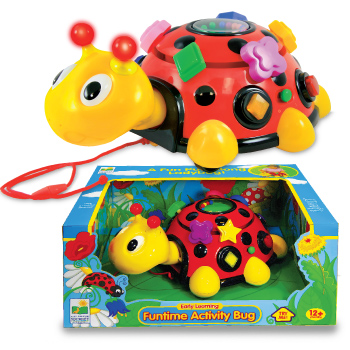 Learning Journey 198162 Funtime Activity Ladybug