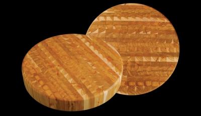 "Larchwood chb 16.25"" Diameter New Chefs Block Cutting Boards"