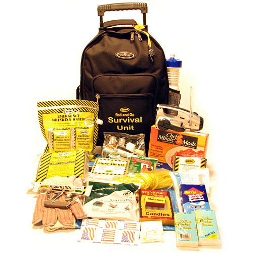 MayDay KT-WH2 ROLL and GO SURVIVAL KIT ON WHEELS - TWO PERSON