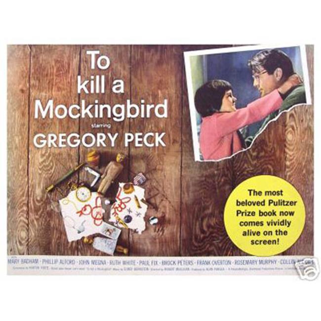 Hot Stuff Enterprise 3265-12x18-LM To Kill A Mocking Bird Poster