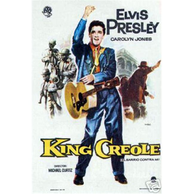 Hot Stuff Enterprise 4505-12x18-LM King Creole Elvis Presley Poster