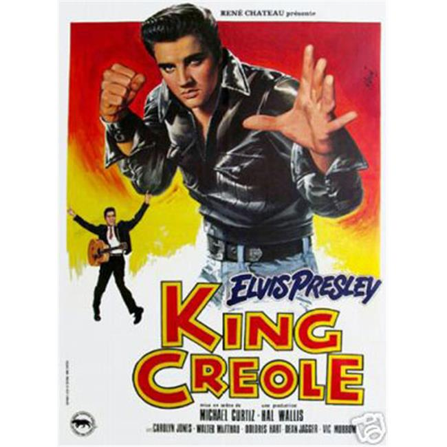 Hot Stuff Enterprise 4506-12x18-LM King Creole Elvis Presley Poster
